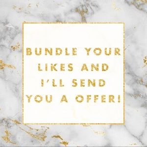 Other - Bundle your likes!💕🌟💝🎉🙌